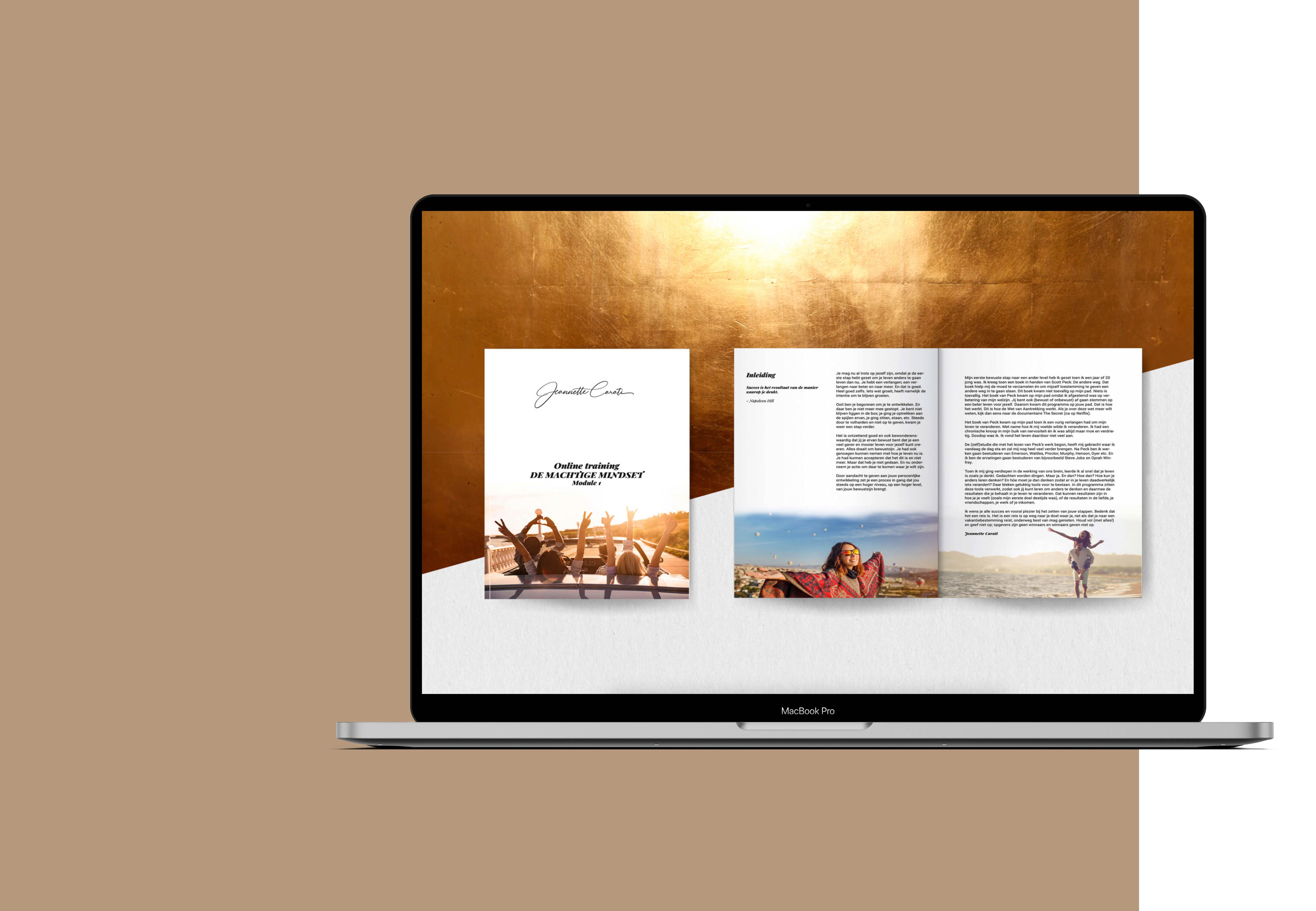 Macbook machtige mindsetkopie